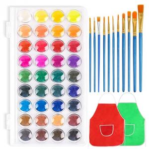 3 otters 36 Colors Watercolor Paint for Kids @ Amazon