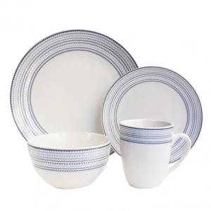 Jay Import 陶瓷餐具16件套,立减64% @ NordstromRack