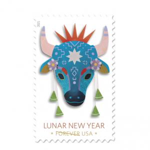 上新:USPS 美國郵政農曆牛年紀念郵票小全張 @ USPS