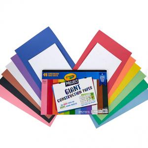 Crayola Project 彩色美術紙, 48張 @ Staples
