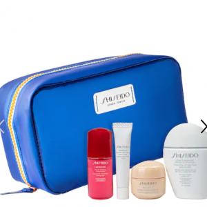 Shiseido CA - Shiseido 小白瓶防曬霜+紅腰子+盼麗風姿係列麵霜及眼霜 5件套 價值106加元