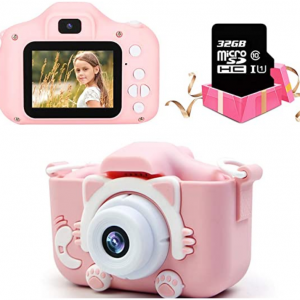 Amazon - Maydolly 高顏值兒童數碼照相機,現價$19.79(原價$32.99)