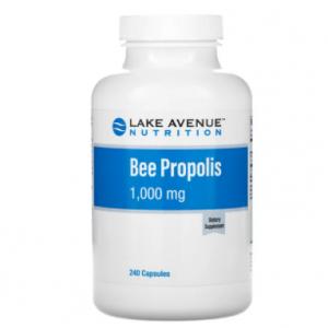 Lake Avenue Nutrition, ビープロポリス、5:1エキス、1,000mg相当、ベジカプセル240粒