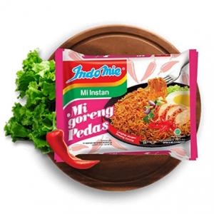 Indomie Mi Goreng 辣味速食炒麵40袋 @ Amazon