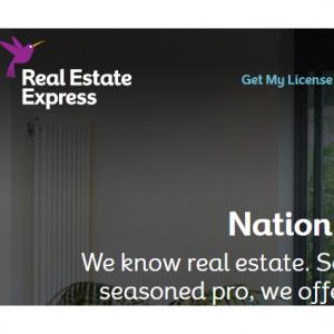 Real Estate Express - 美国房地产经纪人执照考试网课优惠+全指导