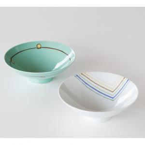 白山陶器 平茶わん 2客セット(A-19・D-11) ¥6,600(税込)
