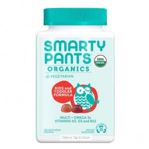 SmartyPants 儿童有机维生素软糖, 180粒 @ Costco