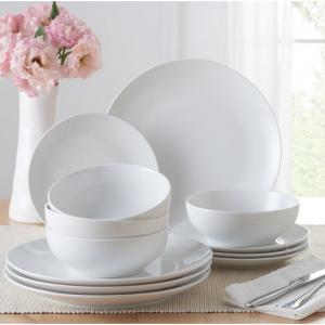 Mainstays 12-Piece Dinnerware Set @ Walmart