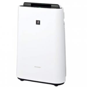 シャープ 加湿 空気清浄機 プラズマクラスター 7000 スタンダード 13畳 / 空気清浄 23畳 2019年モデル ホワイト