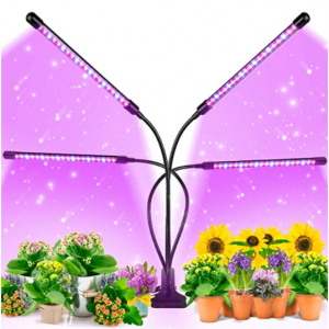 EZORKAS 9 Dimmable Levels Grow Light with 3 Modes Timing Function $29.99 shipped