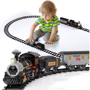 Lucky Doug Electric Train Set for Kids @ Amazon