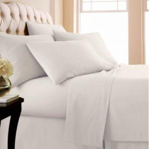 Luxury Home 1,000支埃及棉床上用品4件套,立减80%