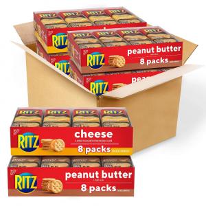Ritz 芝士+花生醬口味夾心曲奇餅 32包 @ Amazon