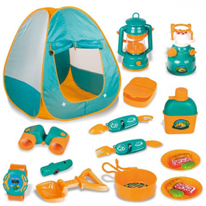 LBLA 20 PCs Pop Up Tent with Kids Camping Gear Set @ Amazon