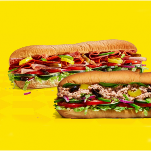 Subway 任意Footlong三明治限時特賣活動