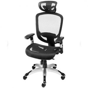 FlexFit™ Hyken Mesh Task Chair, Black (UN59460) @ Staples