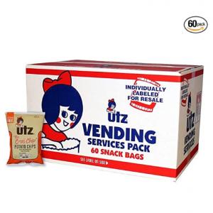 Utz 螃蟹味薯片 1oz 60袋 @ Amazon