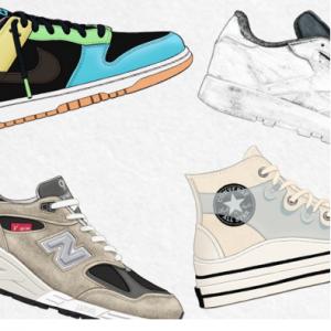 April's New Kicks From Nike, Reebok, New Balance & More @ MR PORTER APAC
