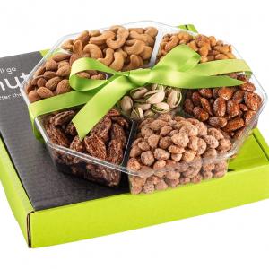 Nut Haven 6種堅果禮品籃 2磅 @ Amazon