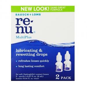 Bausch + Lomb 博士倫日常潤滑型眼藥水 0.27oz 2瓶 @ Amazon