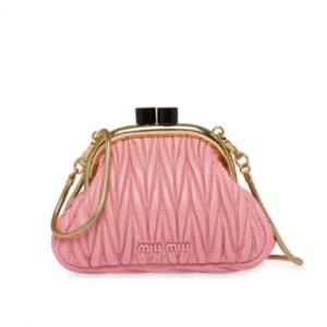 Miu Miu Belle Nappa Mini Bag @ FARFETCH