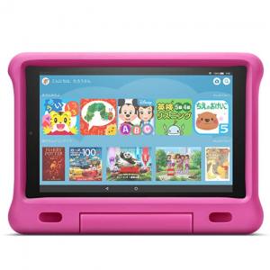 Fire HD 10 タブレット ブラック 64GB 【純正キッズカバー (ピンク) 付き】¥14,980