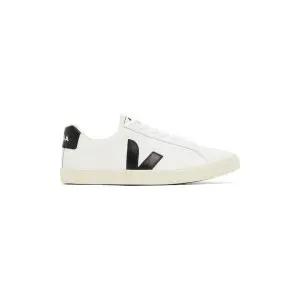 SSENSE官網VEJA White & Khaki小白鞋特賣