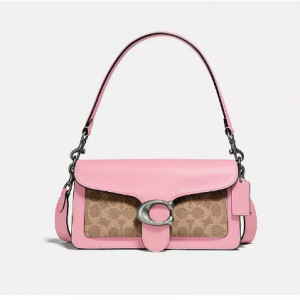 Macy's梅西百貨 Coach Tabby粉色老花包包6折熱賣