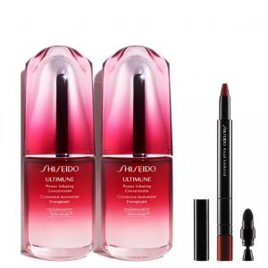 Restock! Shiseido 3-Pc. Ultimune + Kajal InkArtist Set @ Macy's