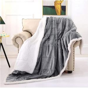 Smile Bee 超軟雙麵保暖蓋毯 多尺寸多色可選 @ Amazon