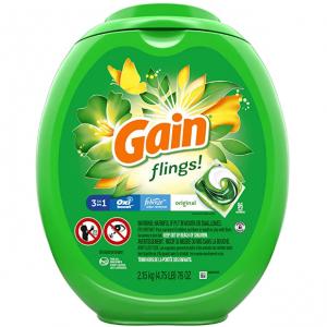Gain 3合1强力去污除味洗衣凝珠96颗 @ Amazon