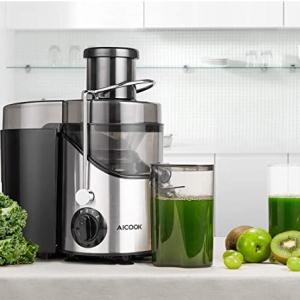 限今天:AICOOK 榨汁机、面包机、空气炸锅促销 @ Amazon