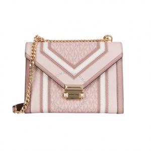 JomaShop官网 Michael Kors Whitney Multicolor粉色小方包5.4折热卖