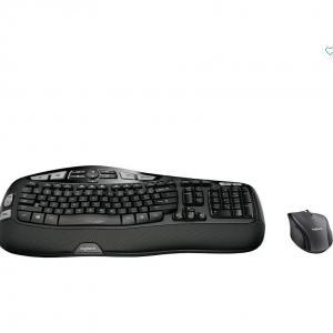 Logitech Comfort Wave Combo MK570 Wireless Keyboard & Mouse @Staples CA