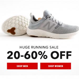20-60% Off Huge Running Sale @ Joe's New Balance Outlet