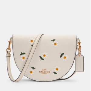 70% Off Coach Ellen Crossbody With Daisy Embroidery @ Coach Outlet