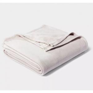 Solid Fleece Bed Blanket - Room Essentials, Twin/Twin XL @ Target