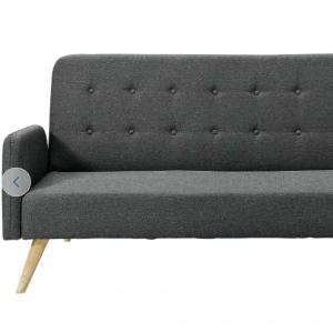 £80 off Habitat Marseille Clic Clac Fabric Sofa Bed - Black @ Argos