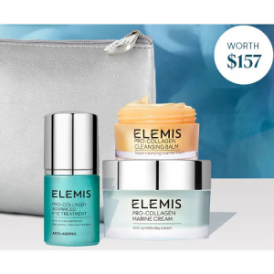Gift With Any Full-Size Purchase @ Elemis