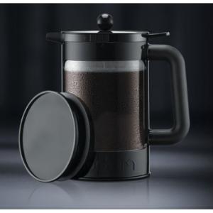 Bodum K11683-01WM 冷萃咖啡壶 不锈钢滤压冰咖啡壶 1500ml 大容量 @ Walmart
