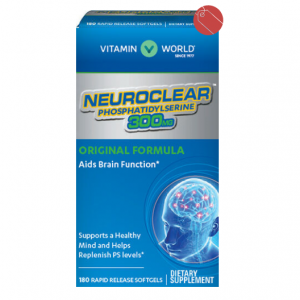 Vitamin World® NeuroClear™ Phosphatidylserine 300 mg. 180 Softgels $36.66