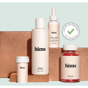 FREE online Visit and Hair loss  Treatments from $15 @hims