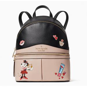 Disney X Kate Spade New York Minnie Mouse Medium Backpack $189 shipped
