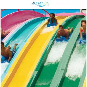 Aquatica -  圣地亚哥水上乐园单日门票,直降$14