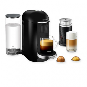 Nespresso VertuoPlus Deluxe Coffee and Espresso Maker Bundle @ Bed Bath and Beyond
