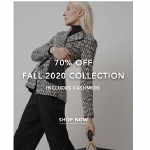 Up To 70% Off Fall 2020 Collection @ St. John Knits