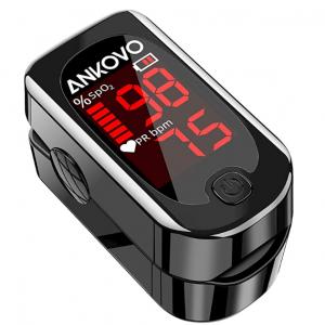 ANKOVO Pulse Oximeter Fingertip @ Amazon