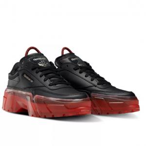 Macy's官網 Reebok Cardi B Club C 卡姐聯名大童款運動鞋熱賣 兩色可選