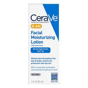 CeraVe AM Facial Moisturizing Lotion SPF 30 3oz @ Amazon