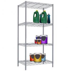 Home Basics 4層鋼製置物架 @ Zulily